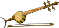 GHIJEK The Ghaychak or Ghijek is a round-bodied musical instrument with three or four metal strings and a short fretless neck. Ghijek is very popular throughout Central Asia. It is used by Iranians, Afghans, Uzbeks, Uyghurs, Tajiks, Turkmens