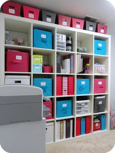 """Craft Room organized"" #furniture #painting #craftroom #inspiration"