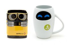 Disney Store Wall-e and Eve Ceramic Mug Set 50 Cool And Unique Coffee Mugs You Can Buy Right Now Wall E, Mugs Set, Tea Mugs, Coffee Love, Coffee Cups, Stars Disney, Unique Coffee Table, Cool Mugs, Coffee Drinkers