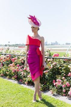 The most stylish celebrity outfits and fashion moments from Melbourne Cup Derby Attire, Kentucky Derby Outfit, Kentucky Derby Fashion, Race Day Outfits, Derby Outfits, Races Outfit, Ascot Outfits, Race Day Fashion, Races Fashion