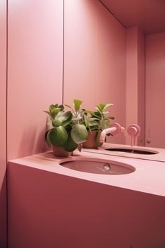 Ideas bathroom colors pink mirror for 2019 Decor, Tiny Powder Rooms, House Design, Cute Dorm Rooms, Interior, Bathroom Colors, Best Bathroom Colors, Bathroom Design, Beautiful Bathrooms
