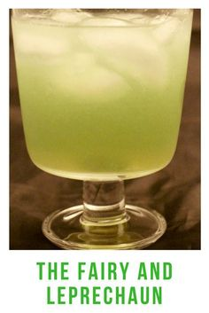 The cocktail features Absinthe for a lovely green color and interesting flavor!