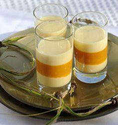 Verrines aux fruits de la passion, pannacotta vanillée - les meilleures recettes de cuisine d'Ôdélices