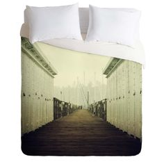 Chelsea Victoria To The End Duvet Cover | DENY Designs Home Accessories
