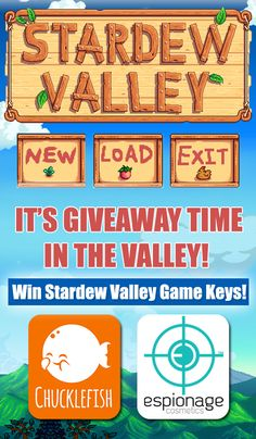 Espionage Cosmetics has teamed up with Chucklefish Games to bring you this giveaway! Pre-orders for Stardew Valley nail wraps are now live at espionagecosmetics.com, but wait! There's MOAR! Enter at the link to win Stardew Valley game keys! Coming to Xbox One and PS4 on December 13th! #EspionageCosmetics #Chucklefish #NerdMisfitGiveaway #Contest #Giveaway #Gamer #GamerGirl #StardewValley