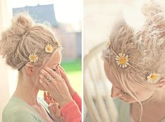 A Tutorial on how to create a messy textured bun |