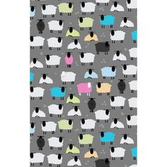 This tea towel, designed by British artist Kate Mawdsley, will add colour to any kitchen. The 'Ewe Beauty' pattern features sheep in various. Tea Towels, Farming, Sheep, Textiles, Kids Rugs, Artist, Pattern, Cotton, Gifts