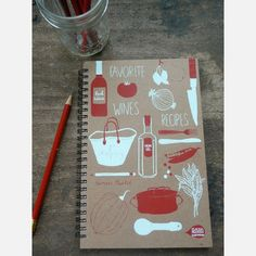 Food Journal by Claudia Pearson
