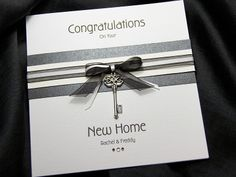Change to a congratulations card for completing your pilgrimage to Rome. handmade new home card ideas - Google Search