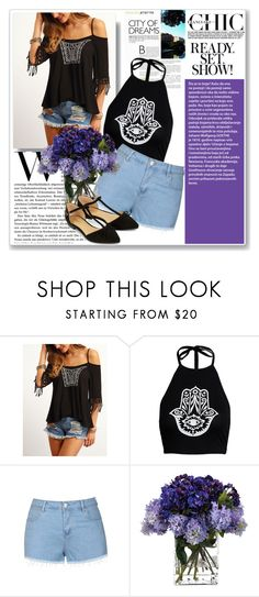 """*Sheinside Collage*"" by mimisfashiondiary ❤ liked on Polyvore featuring Ally Fashion, John-Richard and Accessorize"
