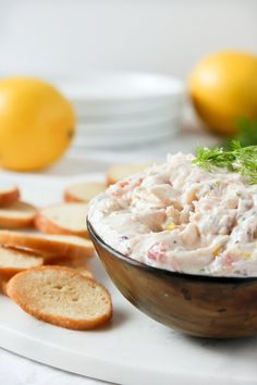 If you need a festive recipe to ring in the season, look no further than this easy yet elegant appetizer. Rich, creamy smoked salmon dip is an easy — but very sophisticated! — way to add some indulgence to your upcoming holiday soiree.