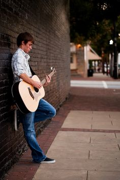 Photography poses for guys male models senior boys 44 ideas Guitar Senior Pictures, Guitar Photos, Male Senior Pictures, Senior Photos, Senior Portraits, Horse Pictures, Senior Photography, Musician Photography, Photography Poses For Men