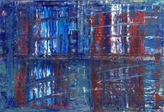 Abstract oil painting - RM 802 - 16 (Painting),  130x90x1.8 cm by Rico Mocellin Die Ölgemälde haben eine abstrakte Stil, viele Farben werden verwendet, um das Ergebnis sind bunte Kunstwerke mit unterschiedlichen Texturen.  Rico Mocellin's Kunstwerke sind das Ergebnis seiner Verrücktheit, in Farben umgewandelt.