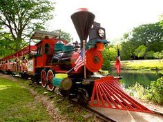 Landa Park Train in New Braunfels, Texas