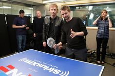MUSE : Matt Bellamy and Dom Howard_15 April 2013 - SiriusXM Studios, New York City