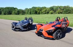 New Polaris Slingshot - side by side motorcycle!