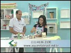 PAP Marmorizado - Artesã Marisa Magalhães - YouTube