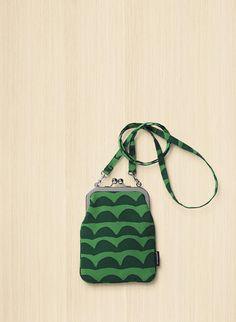 Iso Papajo/Rimmi -laukku 49,50 Marimekko, Sewing Magazines, Frame Purse, Leather Bag, Coin Purse, Textiles, Tote Bag, Wallet, Lady