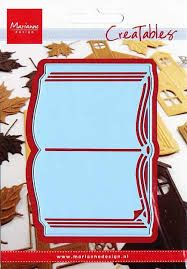 Troquel Marianne Design- Modelo Libro 0253