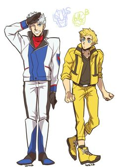 Smokescreen and Bumblebee - HumanFormers, Oh my Primus, they're adorable! xD
