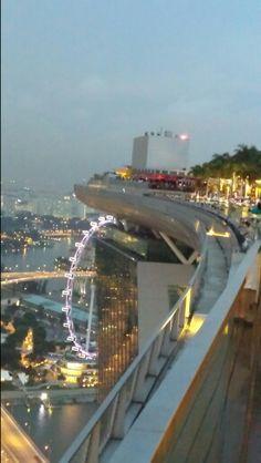Sky Park, Marina Bay Sands