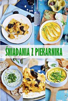 Moja smaczna kuchnia: Śniadania z piekarnika Polish Recipes, Polish Food, Healthy Recipes, Healthy Food, Curry, Lunch Box, Health Fitness, Menu, Baking