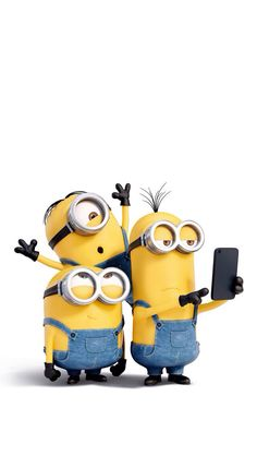 Minion Selfie wallpaper