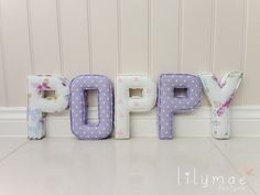 P, Y - Butterfly Gardens Lavender, O, P - Nancy Lavender P - Pink Love Hearts