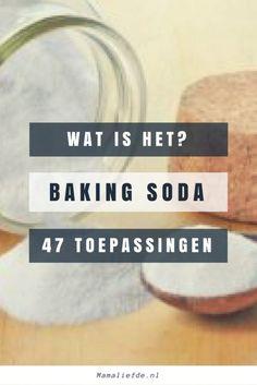 Baking soda; wat zijn de toepassingen? Wat is het? Waar kan je het (online) kopen? Alternatieven van zuiveringszout en natriumcarbonaat - Mamaliefde.nl