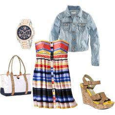 Summer fashion...change it up a bit!