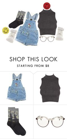 """""""Back To the Drawing Board"""" by imakittybby ❤ liked on Polyvore featuring HOT SOX, MOO and NIKE"""