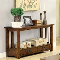 Riverside Furniture – Deerfield Sofa Table