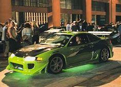 Mitsubishi Eclipse (fast & the furious project car) RIP paul walker Fast And Furious Game, The Furious, Furious Movie, Maserati, Bugatti, Ferrari, Street Racing Cars, Nissan Skyline, Skyline Gtr