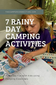 Rainy day camping fun with the kids (using camping essentials) Truck Camping, Go Camping, Camping Hacks, Family Camping, Camping Ideas, Camping Checklist, Camping Essentials, Homemade Forts, Rainy Day Activities For Kids