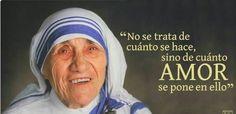 Madre teresa de calcuta ♥ Juan Pablo Ll, Saint Teresa Of Calcutta, Cool Phrases, Special Quotes, Mother Teresa, Religious Quotes, Dalai Lama, Osho, Christianity