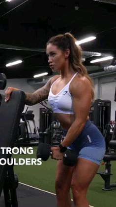 Upper Body Workout For Women, Full Body Hiit Workout, Summer Body Workouts, Workout List, Gym Workout Videos, Fitness Workout For Women, Gym Workouts, Fitness Models, Workout Routines