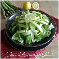 Zero Calorie Life: Zero Calorie Shaved Asparagus Salad.