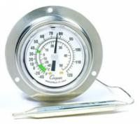 6812-02 -40/120 ° F/C Back Flange Vapor Tension Panel Thermometer