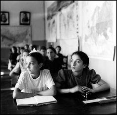 Robert Capa :: Classroom, Georgia, 1947
