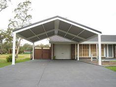 Double Carport, 6x7m long, DIY Custom Carport / Pergola / patio kit