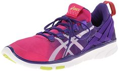 Train like you mean it in these ASICS GEL-Fit Sana high-performance cross-trainers.. Features Lightweight trainer in soft mesh featuring printed logo and external heel cage of woven bands Stretchable MONO-SOCK fit system Rearfoot GEL cushioning Low-profile midsole AHAR+ high-abrasion outsole