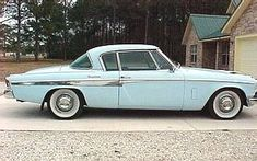 1955 Studebaker President State Starliner Retro Cars, Vintage Cars, Classic Trucks, Classic Cars, Car Trailer, American Legend, Truck Wheels, Car Colors, Unique Cars