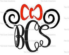 Girls Minnie Mouse Swirl Monogram Shirt, Disney Monogrammed Shirt, Vinyl Shirt, Disney Cruise, Disney Hat Shirt for kids, Personalized
