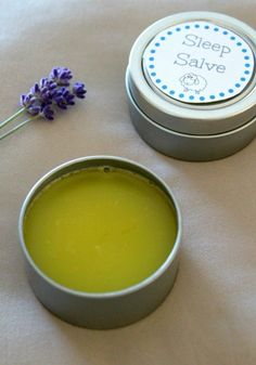 This Homemade Sleep Salve Recipe is so simple to make and use.