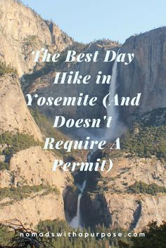 Want to know the best day hike in Yosemite that doesn't require a permit. Get all the details here on how to see four waterfalls in one day. Camping In Georgia, Camping In Ohio, Yosemite Camping, California Camping, California Vacation, Yosemite Lodging, Camping Store, Northern California, Us National Parks
