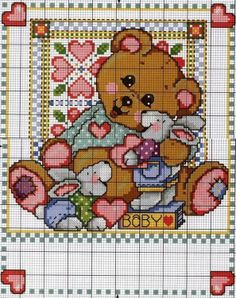 Cross Stitch *<3* Bem vindo bebê!