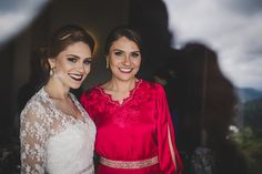 Bride and mommy + Rustic wedding