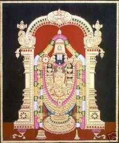 Tanjore painting: Method of making Thanjavur paintings