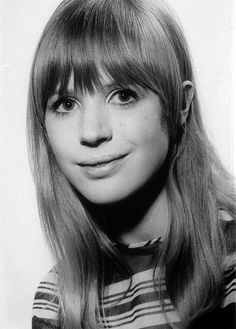 Marianne Faithfull, ca. 1966. Photographed by Harry Goodwin.