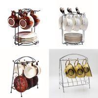 Home Kitchen Bar Mug Dishes Dry Rack Holder Tree Coffee Cup Hanger